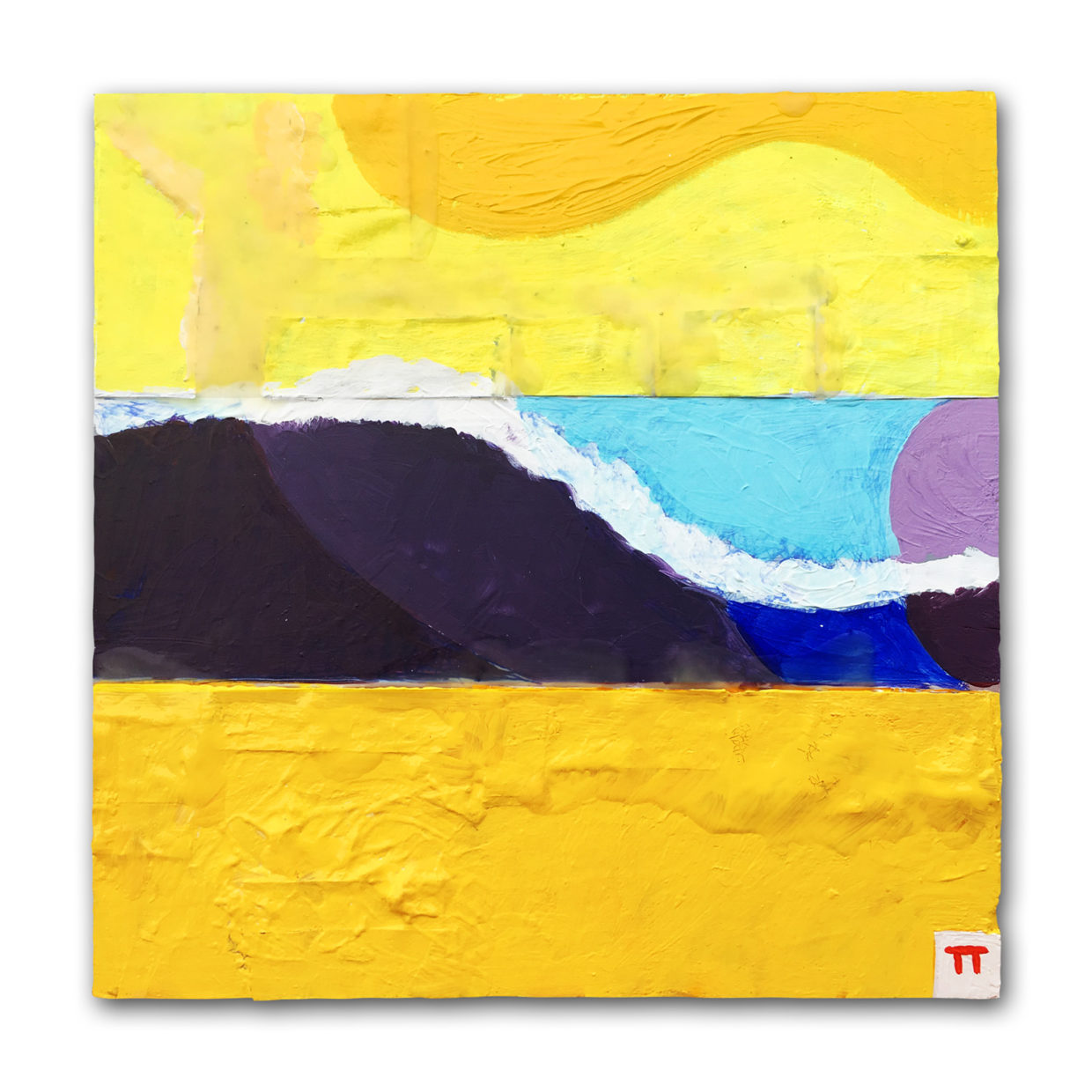 Outside - Wave Series No. 12 - Tim Thayer artwork - painting